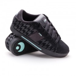 Osiris SERVE GIRLS blk/teal/hounds tooth