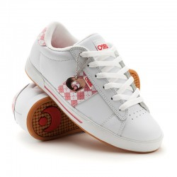 Osiris SERVE GIRLS wht/b.gum/red/argyle