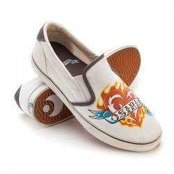 Osiris SCOOP GIRLS wht/grey/flaming heart