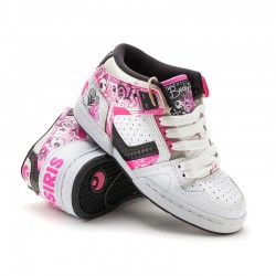 Osiris BB NYC 83 MID GIRLS wht/pnk/blk-bb