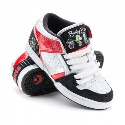 Osiris BB SOUTH BRONX GIRLS ll/soak/wht/blk/red