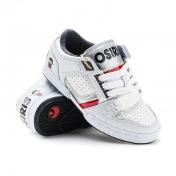 Osiris BB HARLEM GIRLS ll/robt/wht/silver/red