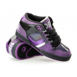Osiris SOUTH BRONX GIRLS blk/purple/silver